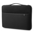 FUNDA HP SLEEVE BLACK/SILVER 15.6""