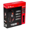 MOUSE GAMER TT TALONX + PAD