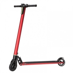 SCOOTER ELÉCTRICO PLEGABLE OVERTECH S1 RED/SILVER