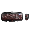 Combo Teclado + Mouse Gamer USB Tt eSPORTS Challenger Prime RGB