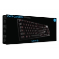 Teclado Gamer USB Logitech G413 Mechanical Carbon